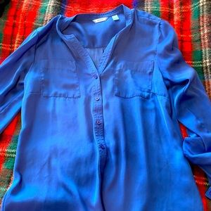 Izod Blue Dress Shirt